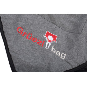 Grüezi-Bag WellhealthBlanket Wool Sleeping Bag Grey Melange
